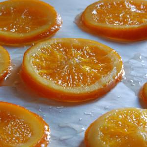Arance candite: un sole di dolcezza