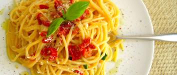 Spaghetti alla San Giuannid per una cena improvvisata