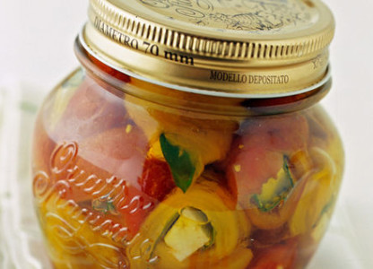 Settembre, è tempo di conserve di…peperoni